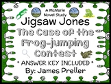 Jigsaw Jones: The Case of the Frog-jumping Contest (James Preller) Novel Study