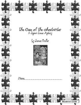 """Jigsaw Jones: The Case of the Ghostwriter"" Novel Unit"