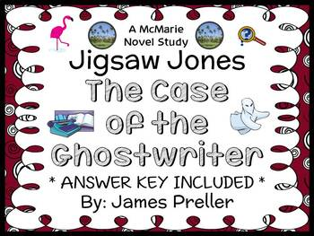 Jigsaw Jones: The Case of the Ghostwriter (Preller) Novel