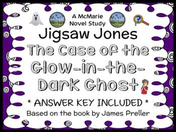 Jigsaw Jones: The Case of the Glow-in-the-Dark Ghost (Jame