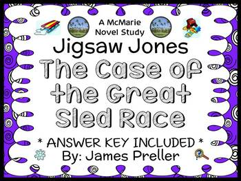 Jigsaw Jones: The Case of the Great Sled Race (James Prell