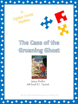 Jigsaw Jones - The Case of the Groaning Ghost