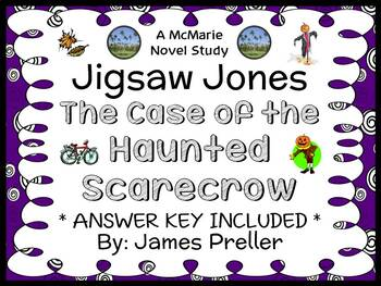 Jigsaw Jones: The Case of the Haunted Scarecrow (James Preller) Novel Study