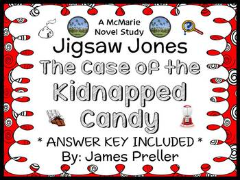 Jigsaw Jones: The Case of the Kidnapped Candy (James Prell