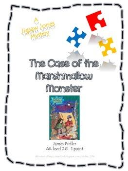 Jigsaw Jones - The Case of the Marshmallow Monster