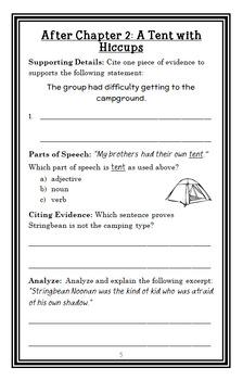 Jigsaw Jones: The Case of the Marshmallow Monster (James Preller) Novel Study