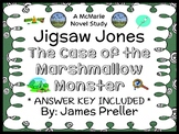 Jigsaw Jones: The Case of the Marshmallow Monster (James Preller) Novel Study