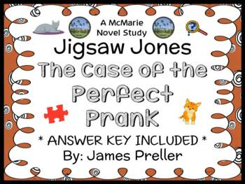 Jigsaw Jones: The Case of the Perfect Prank (Preller) Novel Study/ Comprehension