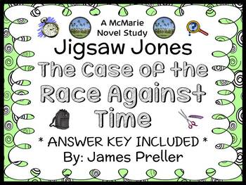 Jigsaw Jones: The Case of the Race Against Time (James Pre