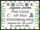 Jigsaw Jones: The Case of the Runaway Dog (Preller) Novel Study / Comprehension