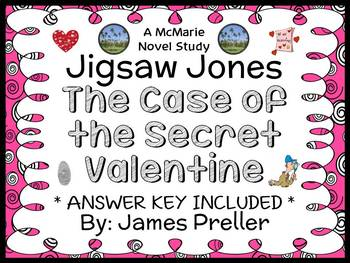 Jigsaw Jones: The Case of the Secret Valentine (James Preller) Novel Study