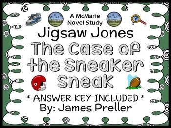 Jigsaw Jones: The Case of the Sneaker Sneak (Preller) Nove