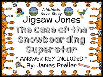 Jigsaw Jones: The Case of the Snowboarding Superstar (James Preller) Novel Study