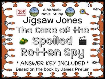 Jigsaw Jones: The Case of the Spoiled Rotten Spy (James Pr