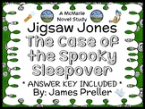 Jigsaw Jones: The Case of the Spooky Sleepover (James Preller) Novel Study
