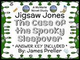 Jigsaw Jones: The Case of the Spooky Sleepover (James Preller) Novel Study
