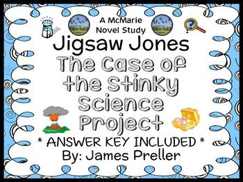 Jigsaw Jones: The Case of the Stinky Science Project (Jame
