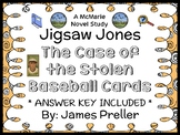 Jigsaw Jones: The Case of the Stolen Baseball Cards (James Preller) Novel Study