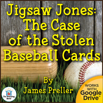 Jigsaw Jones: The Case of the Stolen Baseball Cards Novel Study Book Unit
