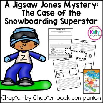 Jigsaw Jones-The case of the Snowboarding Superstar Novel Study Literacy Packet