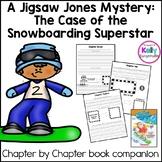 Jigsaw Jones-The case of the Snowboarding Superstar Novel