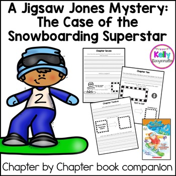 Jigsaw Jones-The case of the Snowboarding Superstar Novel
