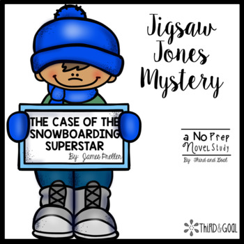 Jigsaw Jones and The Case of Snowboarding Superstar Guided Reading Pack