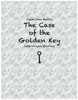 Jigsaw Jones and the Case of the Golden Key comprehension