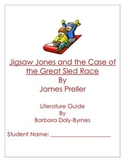 Jigsaw Jones and the Case of the Great Sled Race Literature Guide
