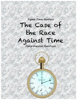 Jigsaw Jones and the Case of the Race Against Time comprehension questions