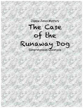 Jigsaw Jones & the Case of the Runaway Dog comprehension q