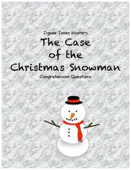 Jigsaw Jones & the Case of the christmas snowman comprehen