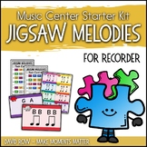 Music Center Starter - Jigsaw Melody Centers for Recorder