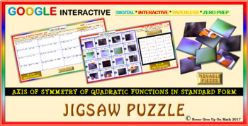 Jigsaw Puzzle: Axis Of Symmetry of QF in SF (Google Interactive & Hard Copy)