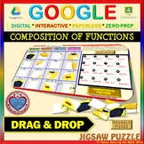 Jigsaw Puzzle: Composition of Functions (Google Drive & Hard Copy)