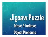 Spanish Direct and Indirect Object Pronoun Jigsaw Puzzle