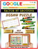 Jigsaw Puzzle: Factor By Grouping (NO GCF) (Google Interactive & Hard Copy)