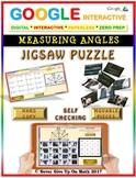 Jigsaw Puzzle: Measuring Angles (Google Drive & Hard Copy)
