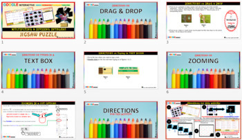Jigsaw Puzzle: Multiplying & Dividing Integers (Google Interactive & Hard Copy)