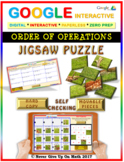 Jigsaw Puzzle:Order Of Operations (Google Interactive & Hard Copy)