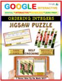 Jigsaw Puzzle:Ordering Integers (Google Interactive & Hard Copy)