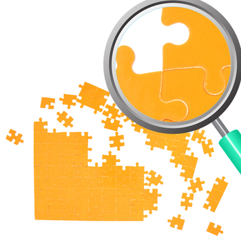 Jigsaw Puzzle Photos / Photograph Clip Art 3 Clip Art Set for Commercial use