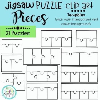 puzzle piece templates teaching resources teachers pay teachers