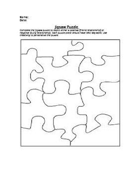 Jigsaw Puzzle: Positive Relationship Building