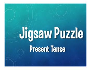 Spanish Present Tense Jigsaw Puzzle