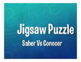 Saber Vs Conocer Jigsaw Puzzle