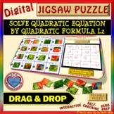 Jigsaw Puzzle: Solve by Quadratic Formula L2 (2 Option answers) (Google )