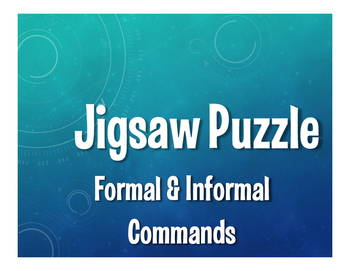 Spanish Commands Jigsaw Puzzle