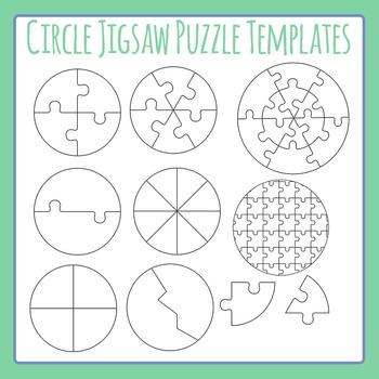 jigsaw puzzles template teaching resources teachers pay teachers