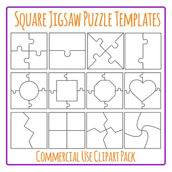 2 piece puzzle template teaching resources teachers pay teachers